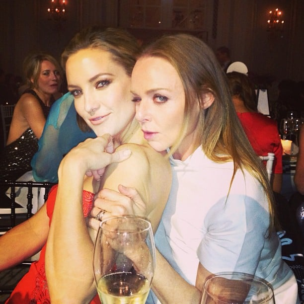 Stella McCartney and Kate Hudson hung out at the Elle Style Awards in London. Source: Instagram user amandadecandenet