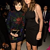 Kris and Caitlyn Jenner at the Victoria's Secret Show 2015