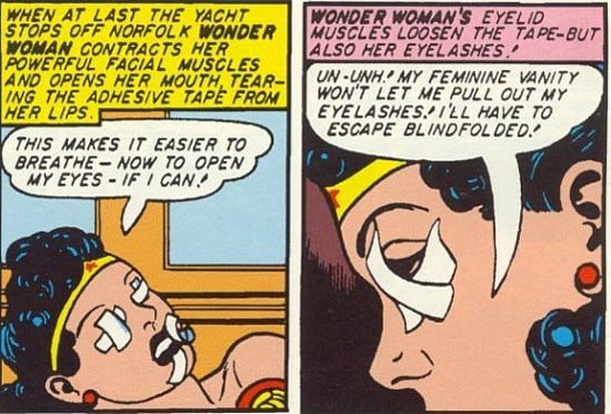 Whatever you do, don't rip your eyelashes out. Dying's OK, though.