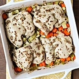 1-Pan Chicken Thighs With Carrots and Leeks