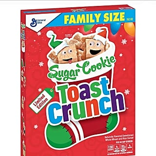 Sugar Cookie Toast Crunch Cereal Return 2018