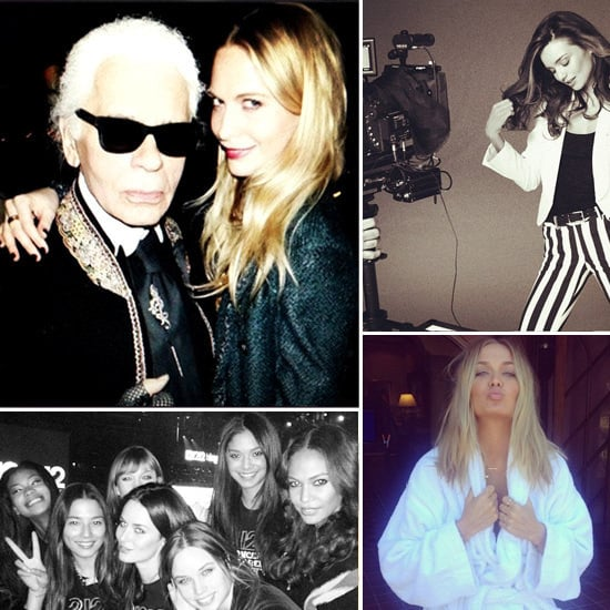 Candids: See What Poppy Delevingne, Karl Lagerfeld, Lara Bingle & More Got Up To This Week