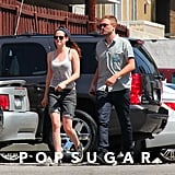 Robert Pattinson and Kristen Stewart Sushi Date in LA