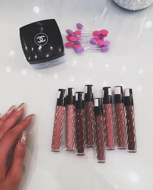Sneak Peek at the Making of Kylie's Lip Kit