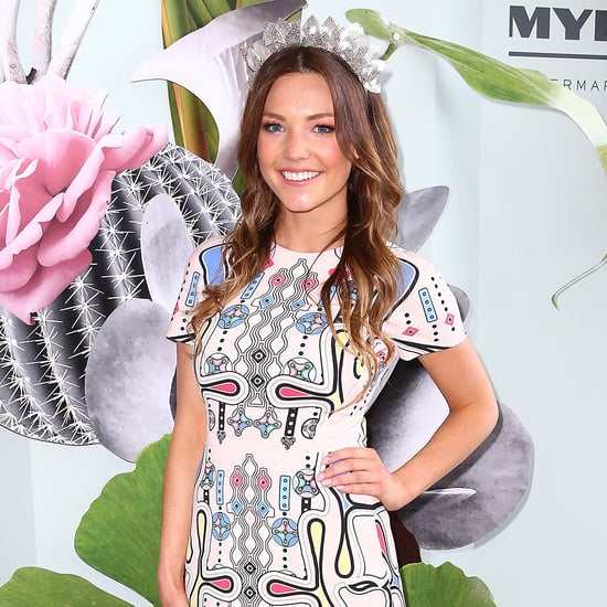 Sam Frost at the Melbourne Cup 2015