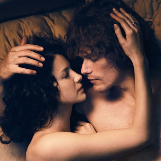 Claire and Jamie in Bed in Outlander Season 3 Photo