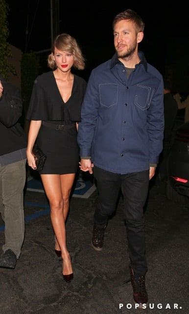 "Following their PDA-filled night at the iHeartRadio Awards last week, Taylor Swift and Calvin Harris are at it again with another adorable outing. The duo enjoyed a romantic date night at popular restaurant Giorgio Baldi in Santa Monica, CA, on Friday evening. The two put on quite the loving display, walking hand in hand and exchanging sweet looks. Most recently, Taylor couldn't help but gush over her other half while accepting the award for best tour for her 1989 World Tour in Inglewood, CA, last week. Before wrapping up her speech, the ""Wildest Dreams"" singer gave Calvin (real name Adam Wiles) an ""aw""-inducing shout-out, saying, ""I had the most amazing person to come home to when the spotlight and the crowds were all gone, so I want to thank my boyfriend Adam for that."" Keep reading to see more of their date night, and then flip through their best moments together."