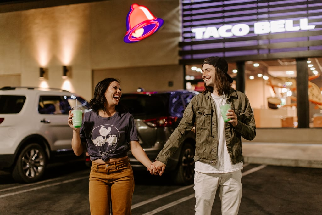 This Couple Took Their Engagement Photos at Taco Bell and Basically Redefined Modern Romance