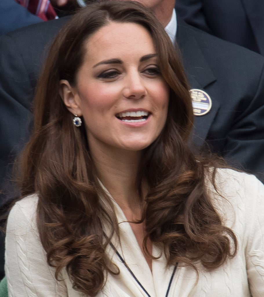 Kate Middleton took in a match.
