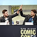 When They Shared This Totally Platonic High Five