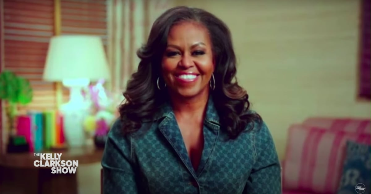 Michelle Obama Keeps It Casual in a Classic Denim Top For Her Chat With Kelly Clarkson