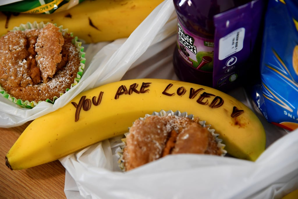 Meghan Markle Writes Messages on Bananas For One25 Charity