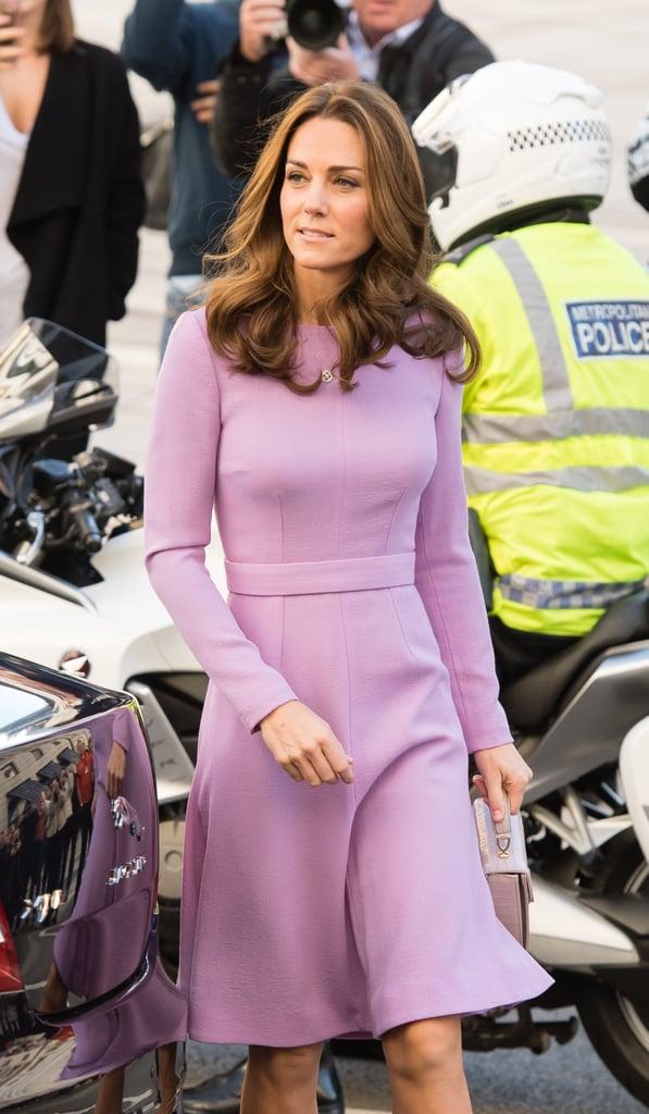 Kate Middleton's Lavender Emilia Wickstead Dress
