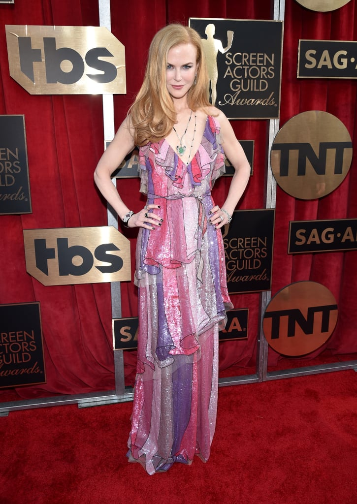 Is Nicole Kidman's Gucci Dress Too Old-School Glam For You?
