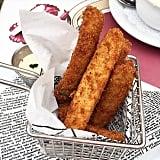 Fried pickles at Carnation Cafe