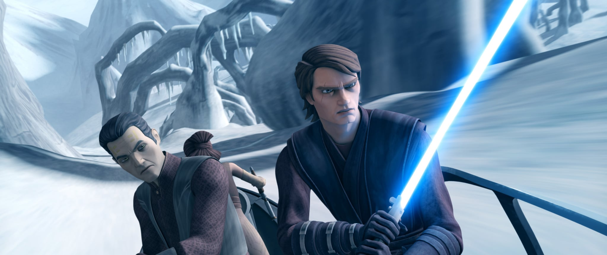 STAR WARS: THE CLONE WARS, Anakin Skywalker (right), (Season 6), 2008-14.  Lucasfilm Ltd./Netflix / Courtesy: Everett Collection