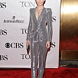 Cate Blanchett in a Metallic Armani Privé Suit at the 2010 Tony Awards