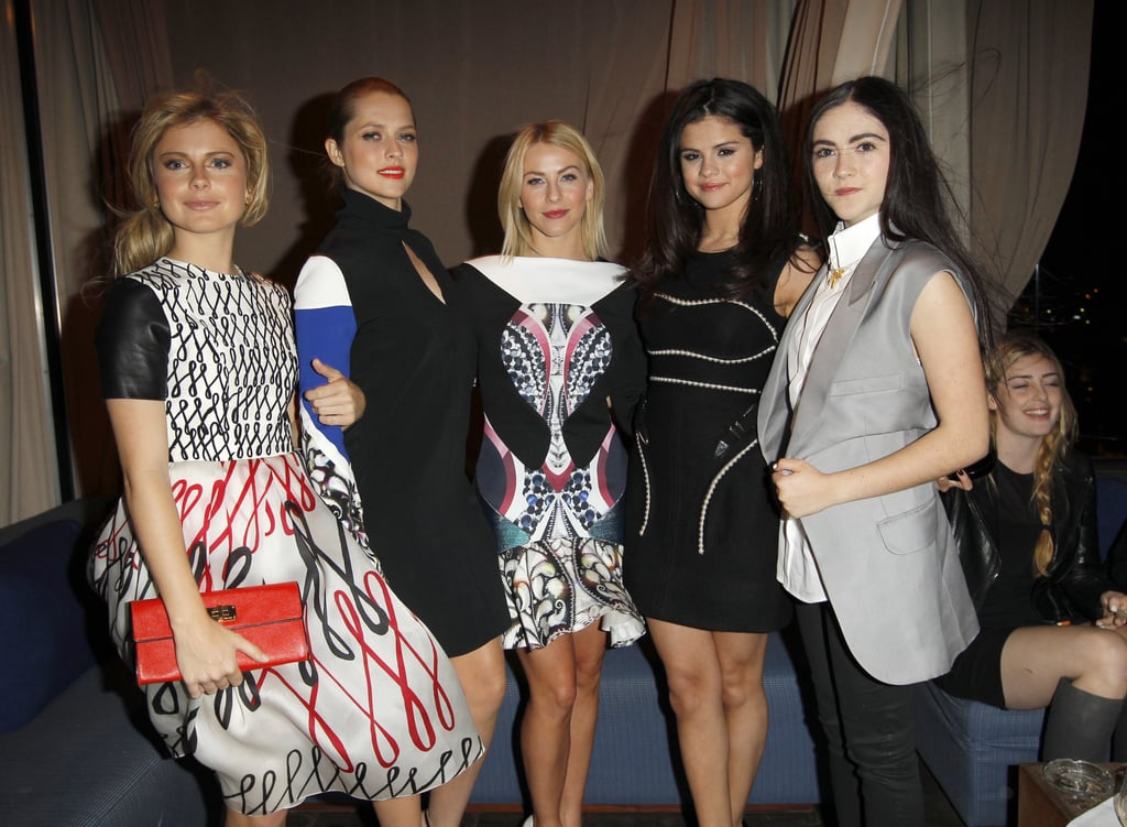 Selena Gomez and Julianne Hough Get Stylish For a British Bash in LA