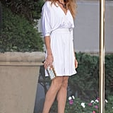 Photos of SJP on Set of SATC 2
