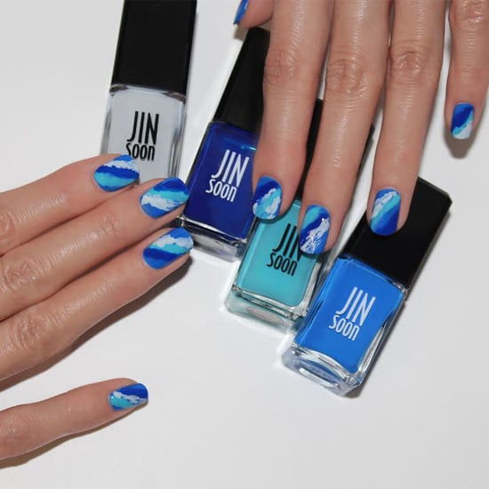 Nail This Ocean-Inspired Manicure Before Fourth of July Weekend