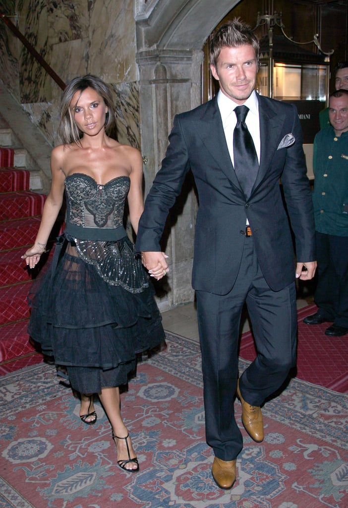The couple stepped out for the Venice Film Festival in September 2006.