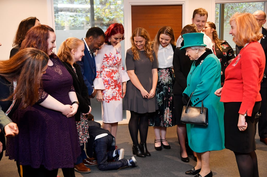 "We get it; the idea of meeting a royal can be extremely intimidating and sometimes daunting, especially if we're talking about Queen Elizabeth II. She is the ruling monarch of England, after all. During the Queen's visit to Coram on Wednesday, a 9-year-old boy named Nathan Grant was so overwhelmed by meeting the royal that he immediately dropped to the floor and crawled away from her. Once Nathan got to the door, he turned around and shouted, ""Bye!"" Still, the best part of it all was that the Queen seemed totally unbothered and moved right along to greet the next person in line like a true professional. Coram was established in 1739 and is the UK's oldest children's charity. During the queen's visit, Elizabeth opened a new centre and spread Christmas cheer as she helped kids decorate a Christmas tree. No word on whether Nathan participated.       Related:                                                                                                           God Save the Queen and the Rest of the Royal Family For Giving Us Good Laughs in 2018"