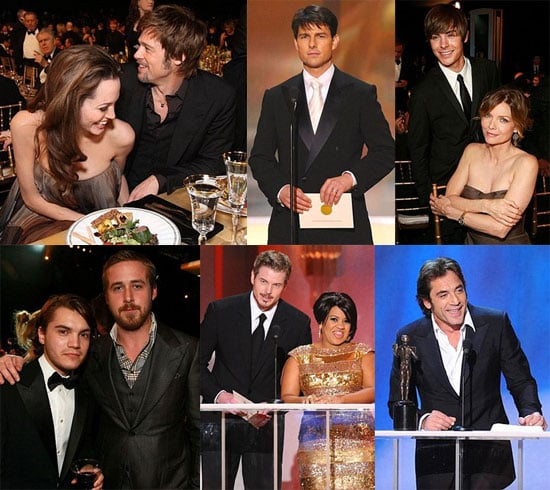 Actors Celebrate Each Other at the SAGs