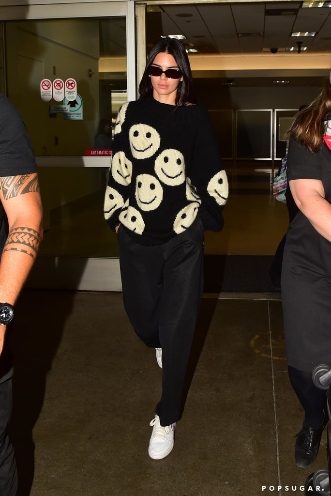 Kendall Jenner Just Showed Us How to Make a Playful Top Look Super Edgy
