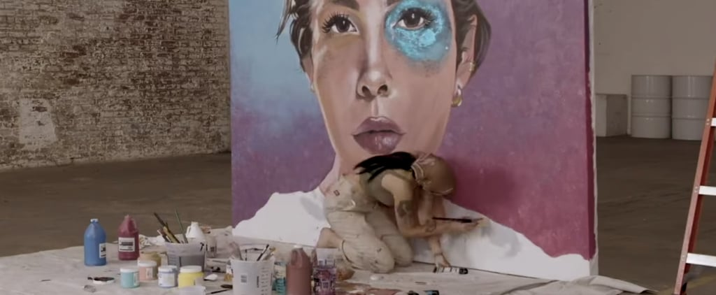 """Halsey Painting in Time-Lapse """"Graveyard"""" Music Video"""