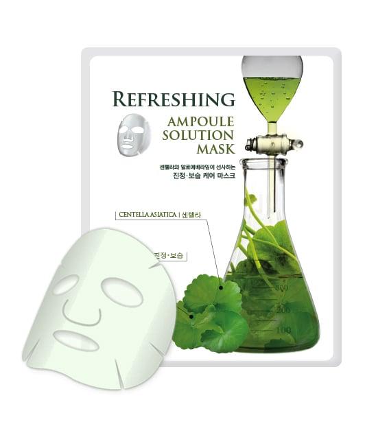 Elishacoy Revitalizing Ampoule Solution Face Mask Ella Bache - Spirulines Green-Lift Regard Eyes (Salon Product) - 15ml/0.51oz