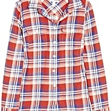 "Nothing says ""Americana spirit"" like this red, white, and blue J.Crew Holden plaid shirt ($78)."