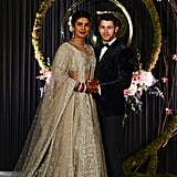 The Pair Looked Dazzling Beyond Belief at Their Wedding Reception