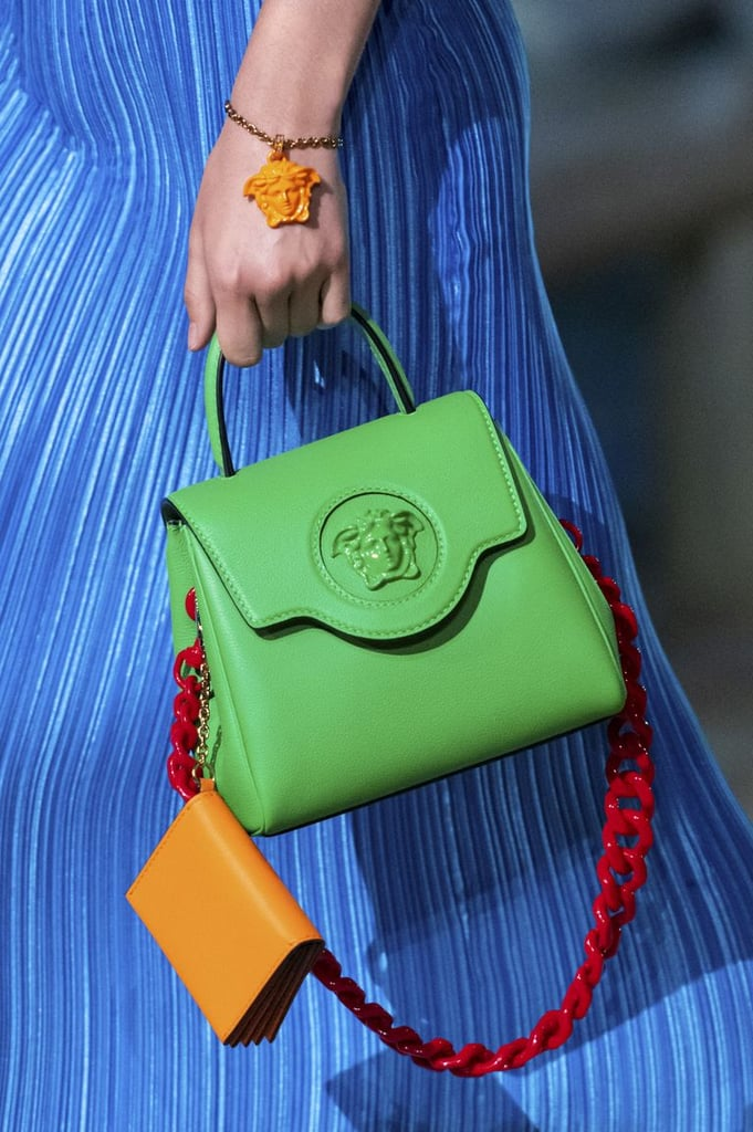 A bag from the Versace Spring / Summer 2021 runway.