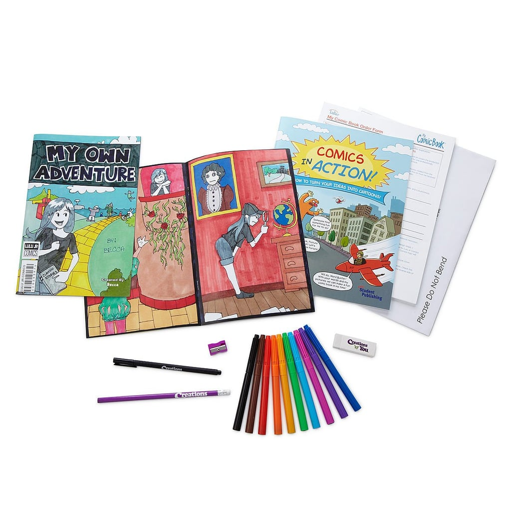 Create Your Own Comic Book Kit