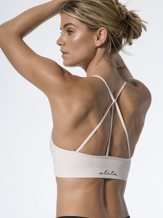 Barre Seamless Bra by Alala ($55)