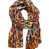 A colorful scarf adds pizzazz to any Spring outfit.  Mango Polka Dot Foulard ($25)