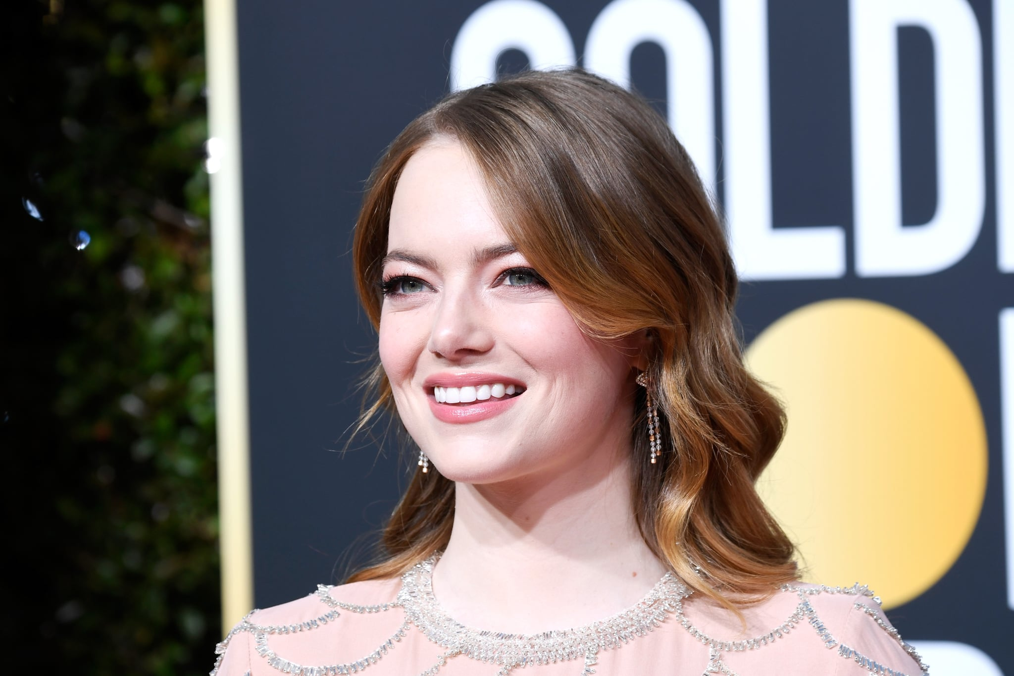 BEVERLY HILLS, CA - JANUARY 06:  Emma Stone attends the 76th Annual Golden Globe Awards at The Beverly Hilton Hotel on January 6, 2019 in Beverly Hills, California.  (Photo by Frazer Harrison/Getty Images)