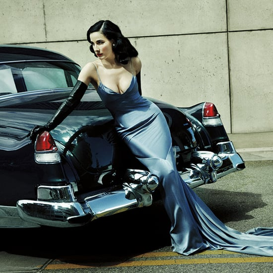 Dita Von Teese Lifestyle Mirror Interview | Video