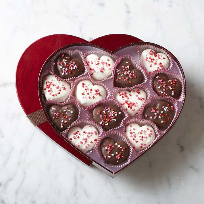 Valentine S Day Brownie Bites 40 Valentine S Day Food Gifts You