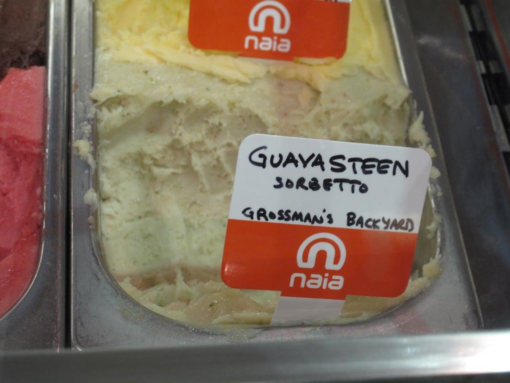 Naia Gelateria's Rare Guavasteen Sorbet