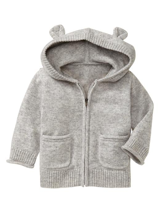 Baby Gap Cashmere Hoodie Sweater
