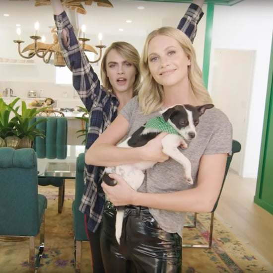 Pictures of Cara Delevingne and Poppy Delevingne's LA House
