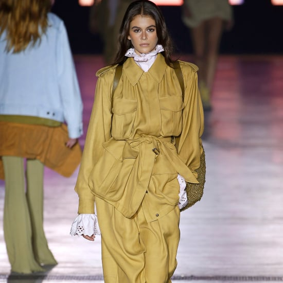 Kaia Gerber at Fashion Week Spring 2019