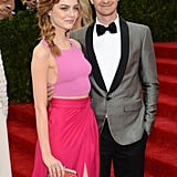 The duo attended the Met Gala in May 2014.
