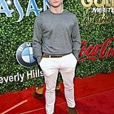 Taron Egerton at the 2020 Gold Meets Golden Party in LA