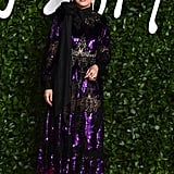 Sandra Oh at the British Fashion Awards 2019
