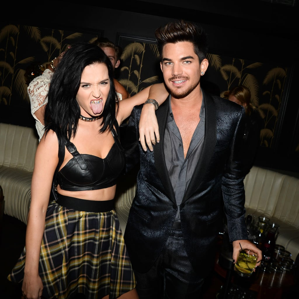 Katy Perry hung out with Adam Lambert at the VMAs afterparty.