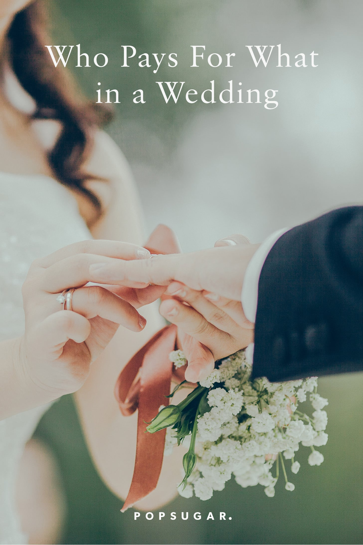 Who Pays For The Wedding.Who Pays For What In A Wedding Popsugar Smart Living