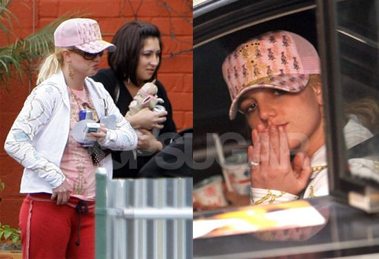 Britney Falls Into Old  Habits...Like Calling Justin