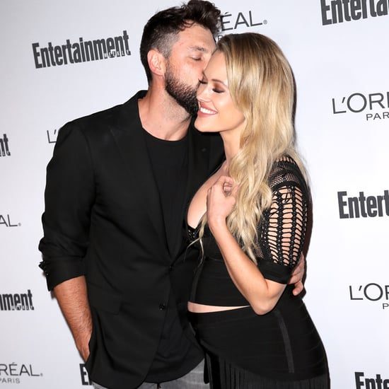Maksim Chmerkovskiy and Peta Murgatroyd at Pre-Emmys Party
